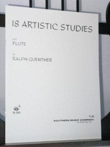 Guenther R - 18 Artistic Studies